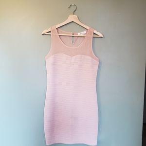Price drop❣️Forever 21 Baby Pink bodycon dress